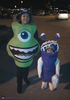 Monsters Inc. - Halloween Costume Contest