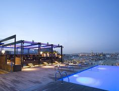 sky bar, swimming pools, hotel central, grand hotel, travel