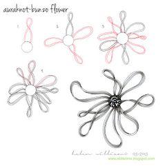 a little lime: PATTERNS - Auraknot-Bunzo Flower