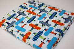 Minky Baby Blanket  100 Organic Cotton Fabric  by modernmadebaby, $35.95