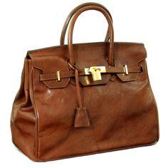 Camel colored Birkin bag