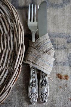rustic silver wrap