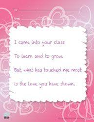 teacher appreciation poems, craft, teacher poems, cards for teachers, teacher gift