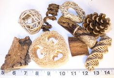 A 9 piece sampler of my most popular natural toy parts and talon toys. The pack includes loofah, vine shapes, cork, coconut husk, a banana leaf tamale