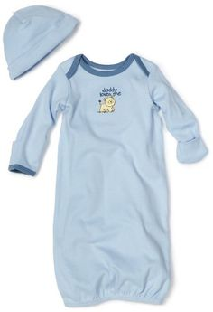 Little Me Baby-boys Newborn Lovable Lion Gown and Hat