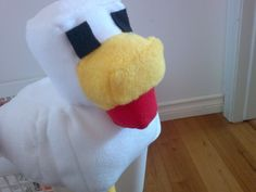 "Minecraft Chicken Plush / Stuffed Toy (10""  tall) - A Homemade Minecraft mob plush Listing Stats. $49.99, via Etsy."