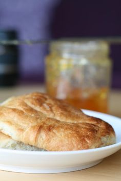 buttery, also known as a roll, rowie, rollie, Aberdeen roll is a ...