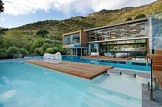 Amazing, one day swimming pools, bay, dream, south africa, modern architecture, pool houses, modern homes, cape town, spa