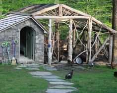 backyard sheds, chicken coops, garages, potting sheds, chickencoop