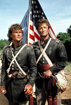 Patrick Swayze & James Read from North & South