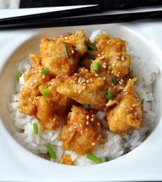 Oven Fried Orange Chicken - Skip takeout; make this homemade orange chicken recipe instead!