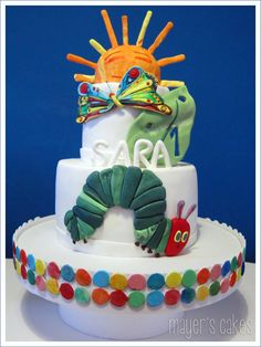The Very Hungry Caterpillar - La Oruga Glotona. mayer's cakes