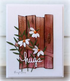barn doors, barn biggan, card, paper crafts, old barns