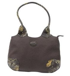 Camo Leather Shoulder Bag, Womens Mossy Oak   Genuine Leather Purse Tote  Price : $79.50 http://www.camochique.com/Camo-Leather-Shoulder-Womens-Genuine/dp/B00E3PXH0S