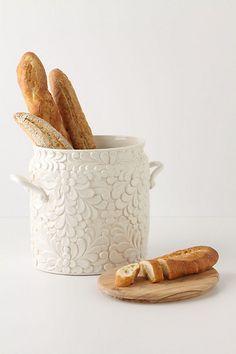 Verdant Bread Bin - Anthropologie.com