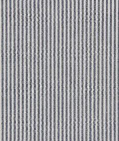 Robert Allen Oxford Unquilt Navy Fabric // Train Party Ideas