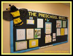 photo of: Buzz Bumble Bee Bulletin Board via RainbowsWithinReach