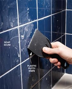 removing soap scum