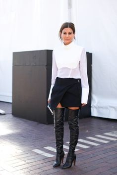 thigh high boots?  effing HOT!!!!