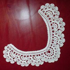 Crochet collar patterns