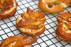 german pretzel, food, favorit recip, german style, soft pretzel, snack, pretzels, style soft, recip bread