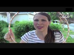 Build a Hula Hoop Fort in Your Backyard! - Crafty Moms Weekly Challenge - Episode 6