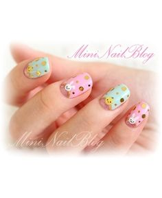 Easter nail art mani #easter #nailart #mani #nails #polish - Click image to find more  Pinterest pins check out www.MyNailPolishObsession.com for more nail art ideas.