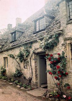 Arlington Row, Bibury, Gloucestershire by teresue