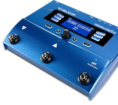 Future American Idol? Wanna impress Howard Stern on America's Got Talent? VoiceLive Play by TC-Helicon is a vocal processor that provides pitch correction, harmonies and genre-based presets to make any singer sound great.
