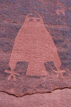 prehistoric petroglyphs, Moab area, Grand County, Utah 24, via Flickr.