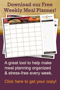 Planner to make meal planning easy