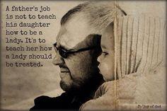 Daddy's girl...