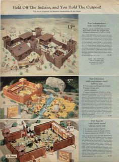 Play Sets JC Penney 1970