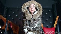 Here's Sapphire Blue in her dark dungeon. Crawling towards the sexy blonde in her black shiny high heels and striking wildcat jacket, you kneel naked before Mistress while she stares and strides around you. See more at - http://theloveoffur.com/