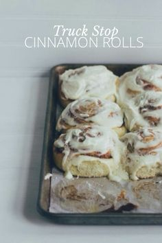 Truck stop cinnamon rolls #steller