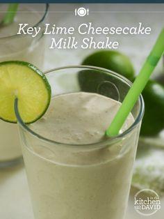 Key Lime #Cheesecake Milkshakes...WOW!