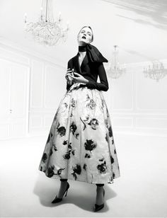 Daria Strokous photographed by Willy Vanderperre for AnOther