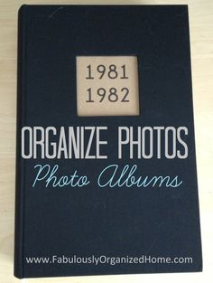Organizing with Photo Albums