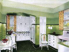 1930s Kitchen by Masonite (1938)