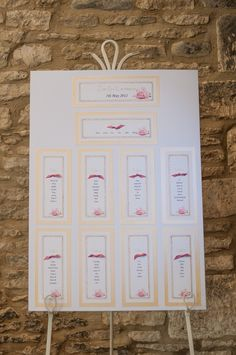 Rustic Wedding Seating Arrangement