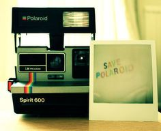 Polaroid~ im sad i can no longer find film at the stores