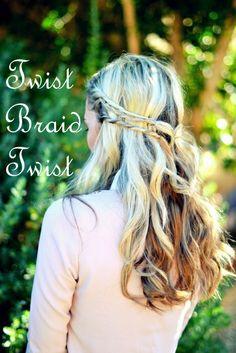 Twist, Braid, Twist... Easy and cute!