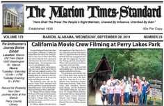 Marion Times - Alabama News www.allhalemovie.com