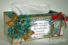 Heartfelt Creations | Masculine Tissue Box Cover