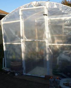 DIY PVC Greenhouse, Part2