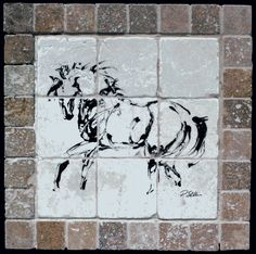 Another Tile Horse