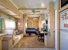 Converted Solar Truck Home