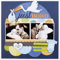 new babies, baby scrapbook pages, birth stories, scrapbook layouts, baby cards, babi scrapbook, baby boys, scrapbook idea, paper piecing patterns