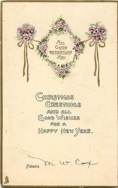 SALUDOS DE LA NAVIDAD Y los mejores deseos para un nuevo año feliz.  DE