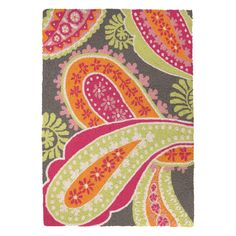 """I pinned this Parvati 2'3"""" x 3'4"""" Rug in Pink from the Preppy & Plush event at Joss and Main!"""